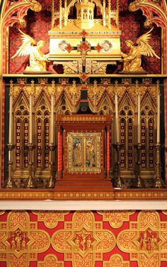 St Chad's Cathedral, Birmingham - High Altar...Augustus Pugin