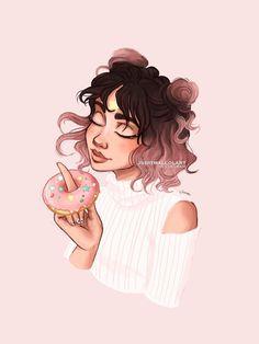 deviantart juditmallolart summer donut drawings drawing itslopez debbyarts sketches kawaii autumn redbubble prettiest lbr pastel colors spring stuff dibujo перейти