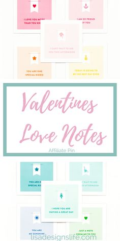 These cutesie love notes are perfect to tuck in the little's lunchbox to tell them how much you love them at Valentines and all year long. Click the image to view these and other awesome sauce products. Happy Valentines from Lisa xo