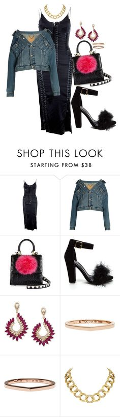 """Basic"" by chelsofly on Polyvore featuring Dolce&Gabbana, Balenciaga, Les Petits Joueurs, Effy Jewelry, Repossi and House of Harlow 1960"