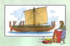 Marin1 07 : Navire de commerce phénicien
