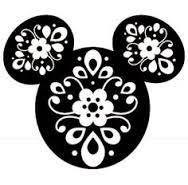 Disney Mickey Head Fancy Mandala Iron On Heat Transfer Vinyl Disney Diy, Disney Crafts, Disney Mickey, Disney Cruise, Walt Disney, Machine Silhouette Portrait, Silhouette Cameo Projects, Silhouette Cameo Vinyl, Silhouette Images