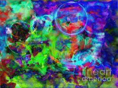 Circles Within Circles, by FireBonnet #tradigital #art #abstract