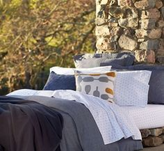 Sea Cliff Collection. #organicbedding #TheUltimateGreenStore