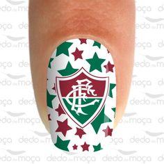 Adesivo para Unha - Fluminense