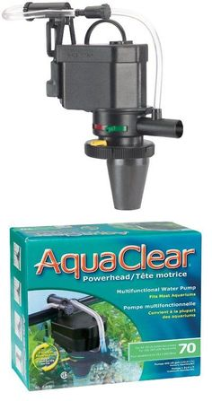 Filter Media and Accessories 126476: New Aquaclear 70 Powerhead 400 Gallons Per Hour Ul Listed Filter Media Nib -> BUY IT NOW ONLY: $48.6 on eBay!