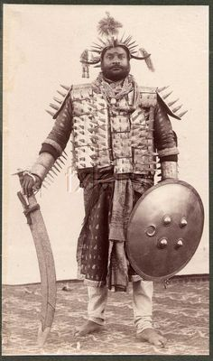 Native executioner, India - Samuel Bourne, 1903
