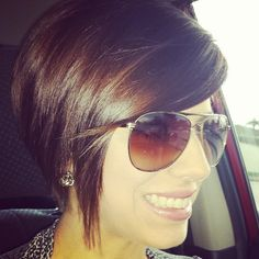 Love this cut! Wish I had the guts to do it.