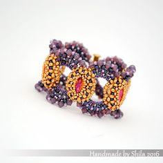 shilabead:   I have listed the newest O'Bracelet Pdf pattern...