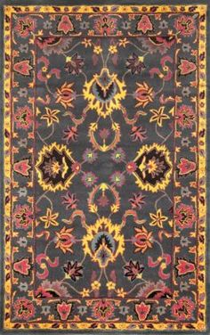 Rugs USA - Area Rugs in many styles including Contemporary, Braided, Outdoor and Flokati Shag rugs.Buy Rugs At America's Home Decorating SuperstoreArea Rugs Room Rugs, Rugs In Living Room, Area Rugs, Orange Rugs, Orange Area Rug, Boho Cushions, Interior Rugs, Interior Design, Eclectic Living Room