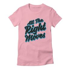 All The Right Chess Moves Women's Fitted T-Shirt by Grandio Design Artist Shop
