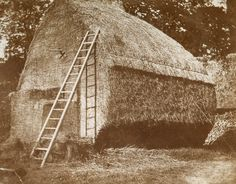 Haystack, c by Talbot, William Henry Fox. SSPL Science and Society Picture Library History Of Photography, Fine Art Photography, Classic Photography, Henry Fox Talbot, Daguerreotype, Old Photos, Talbots, Britain, 19th Century
