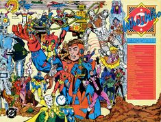Who's Who # 5, DC Universe, Legion of Super Heroes, George Perez, cover, wraparound cover, Cyborg