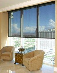 Insolroll® solar shades high rise Las Vegas view.
