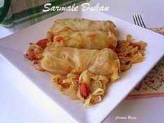 Arome si culori - Dukan: Sarmale Dukan Cabbage, Meat, Chicken, Vegetables, Food, Dukan Diet, Meal, Eten, Vegetable Recipes