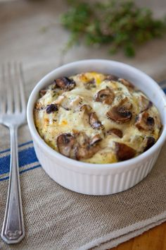 Recipe: Mixed Mushroom Egg Bakes — But First, Breakfast!