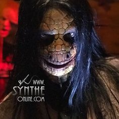 Special #Makeup Effects   Days of the Dead #SFX Makeup challenge  #syntheonline #aliem #lizard #reptile #prosthetics #dark