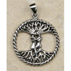 Zilveren Hanger Levensboom Koppel