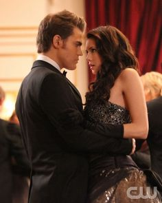 """Dangerous Liaisons""--LtoR: Paul Wesley as Stefan and Nina Dobrev as Elena on THE VAMPIRE DIARIES on The CW. Photo:  Quantrell D. Colbert/The CW ©2011 The CW Network. All Rights Reserved."