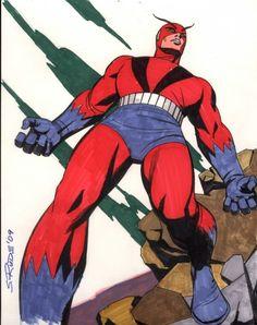Giant Man - Steve Rude