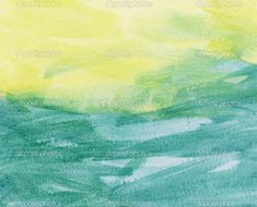 color field painting watercolor - Google Search
