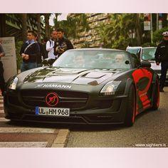 #mercedes #sls #hawk #hamann - Visit www.sighters.it #instagood #cute #photography #art #follow #picoftheday #like #beautiful #followme #monaco #photographer #bestoftheday #instalike #amazing #carporn #cargramm #supercars #carspotter #spotter #instafamousi #supercars #dreamcars #cars #follow4follow #montecarlo