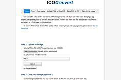 ICO Convert es una de las mejores aplicaciones web para crear iconos online de forma totalmente gratuita y sencilla. Podemos usar imágenes BMP, PNG y JPG.