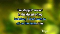 Karaoke Lemon Tree - Fool's Garden *