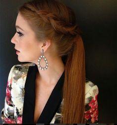 Madrinhas de casamento: Os penteados de Marina Ruy Barbosa