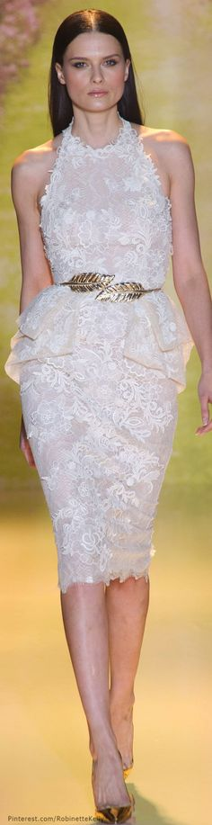 New Zuhair Murad Bridal 2014 Spring Couture Ideas Elegant Dresses, Nice Dresses, Short Dresses, Beautiful Gowns, Beautiful Outfits, Couture Fashion, Runway Fashion, Zuhair Murad Bridal, Spring Couture