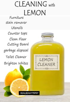 Best ways to Clean with Lemons
