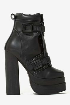 Jeffrey Campbell Diverse Leather Boot | Shop What's New at Nasty Gal