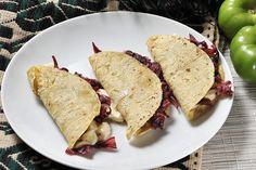 Quesadillas con flor de jamaica | Cocina y Comparte | Recetas de cocina al natural