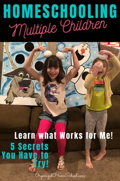 Learn 5 Secrets to Homeschooling Multiple Children Successfully from a mom who does it every day! Homeschooling multiple ages and grades can be done! Preschool Supplies, Preschool Schedule, Preschool Lesson Plans, Preschool Curriculum, Preschool Printables, Preschool Kindergarten, Homeschooling, Homeschool Diploma, Homeschool High School