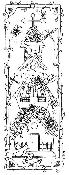 Birdhouse Stack (Unmounted)