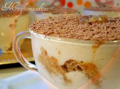 Tiramisu à la crème de marrons, rhum et mascarpone