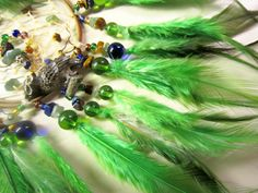 Horse Dancer's Handmade Elf Owl Dream Catcher by jungleeyejoe on Etsy