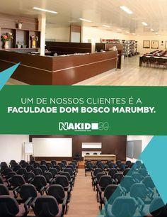 Um de nossos clientes é a Faculdade Dom Bosco Marumby. Confira fotos do empreendimento em nosso portfólio online: nakid.com.br/portfolio/dom-bosco-marumby/.    #obra #nakid #portfolio #paisagismo #sonho