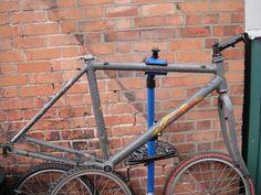 #Gary Fisher AL-1 retro mountain bike frame Like, Repin, Share, Follow Me! Thanks!