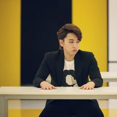 Twitter / SMTownFamily: {OFFICIAL} 140326 #SuperJuniorM Swing Music Video Shoot- Sungmin