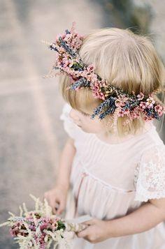 Flower Crown - Rustic Wedding - Boho Pins: Top 10 Pins of the Week by Pinteres . Delicate Wedding Dress, Boho Wedding, Dream Wedding, Trendy Wedding, Rustic Wedding, Wedding Veils, Hair Wedding, Spring Wedding, Bridal Hair