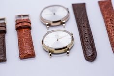 Inspired by the golden age of watchmaking, Minute & Azimut create beautiful handmade British luxury watches that are elegant and durable, yet affordable. Create Your Own Website, Bracelet Watch, Watches, Leather, Accessories, Wristwatches, Clocks, Jewelry Accessories