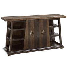 Buffet Server, Buffet Cabinet, Sideboard Buffet, Wood Buffet, Walnut Veneer, Modern Rustic Interiors, Dining Furniture, Table Linens, Granite
