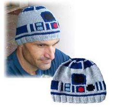 R2-D2 Beanie - Not gonna lie - I would wear it! :-)  Proudly