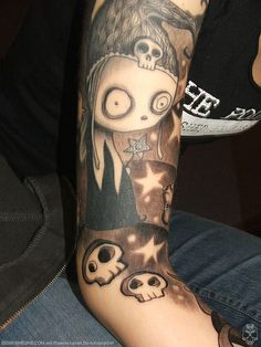 Wow I love this - this is the best Lenore tattoo I've seen