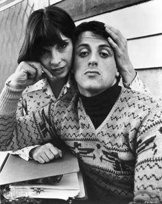 Adrian and Rocky Balboa . ROCKY <3
