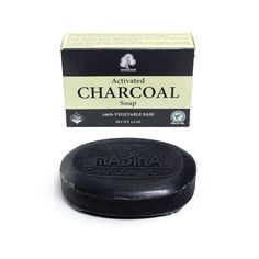 Activated Charcoal Soap - 3½ oz. (M-S229)