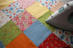 "Step by Step directions for making a quilt - should be called ""Quilt Making for Dummies!"""