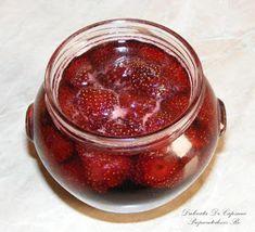 Dulceata de capsuni intregi Romanian Food, Romanian Recipes, Metabolism Boosting Foods, Gem, Desserts, Canning, Tailgate Desserts, Deserts, Jewels