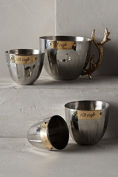 Nordic Elk Measuring Cups - anthropologie.com #anthrofave